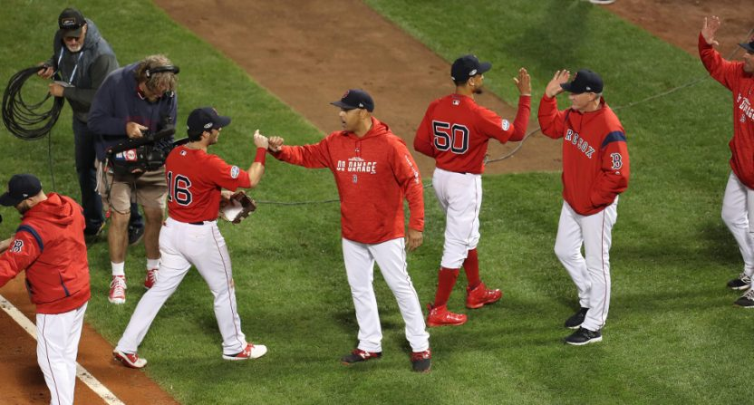 The Red Sox got a win Friday, and brought TBS a ratings win in the process.