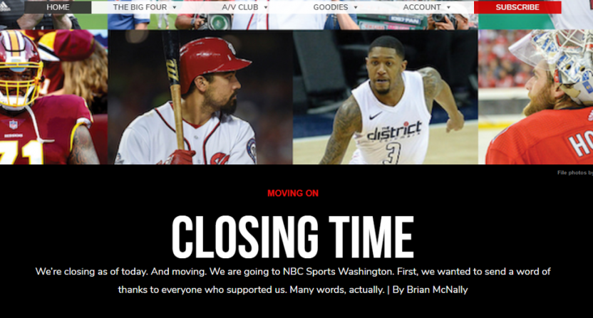 The Sports Capitol is closing.