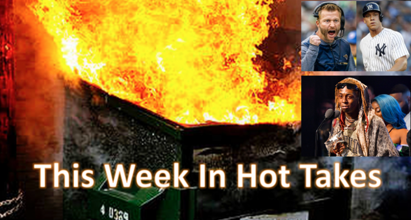 Phil Mushnick led the way in hot takes this week.