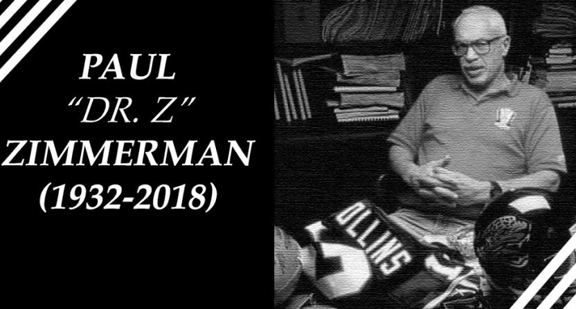 """Paul """"Dr. Z"""" Zimmerman."""