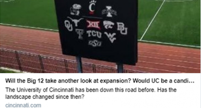 There was briefly a Cincinnati Enquirer story about Big 12 expansion based on a Reddit CFB Twitter joke.