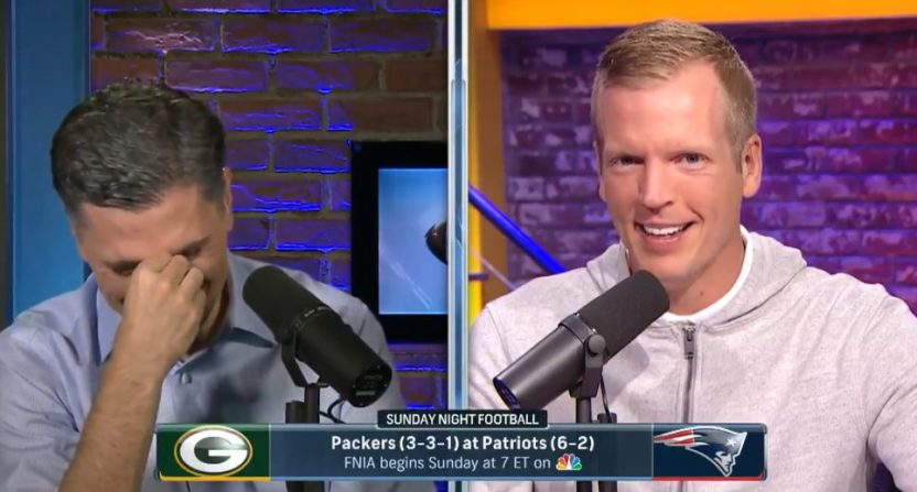 Mike Florio and Chris Simms on PFT Live.