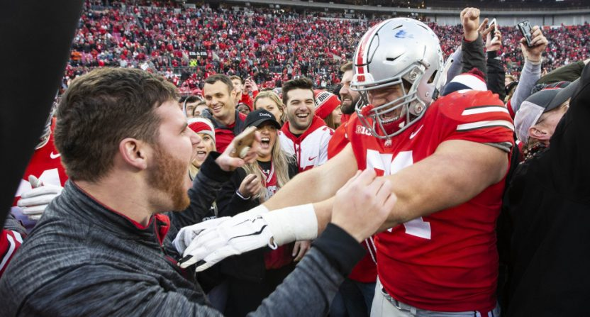 Ohio State's win over Michigan drew ratings rewards for Fox.