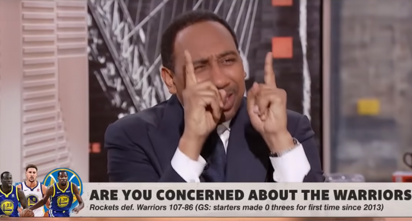 Stephen A. Smith on Kevin Durant.
