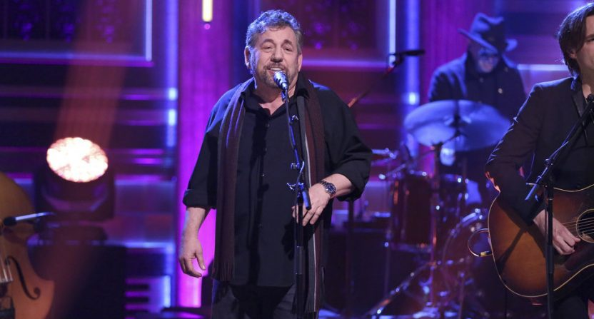 Jim Dolan with his band on The Tonight Show.