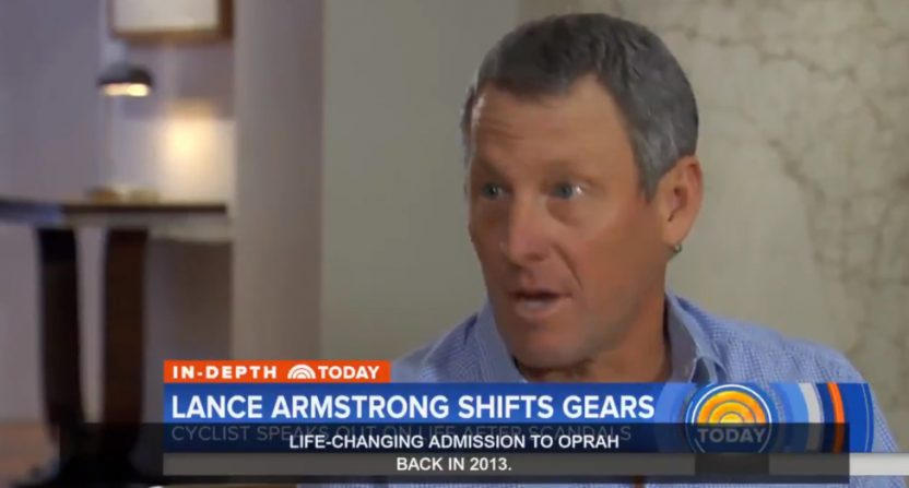 Lance Armstrong on Today.