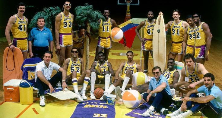 The Showtime Lakers.