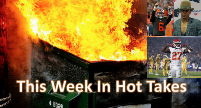 This Week In Hot Takes for Nov. 30-Dec. 6.