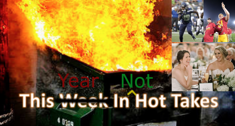 This Year In Not Hot Takes.