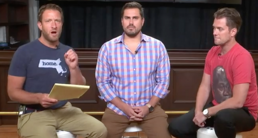 Barstool's Big Cat advocates for self policing in latest Deadspin
