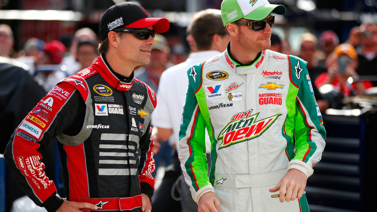 Jeff Gordon's quick thinking and Dale Earnhardt Jr.'s help once got him out of a speeding ticket