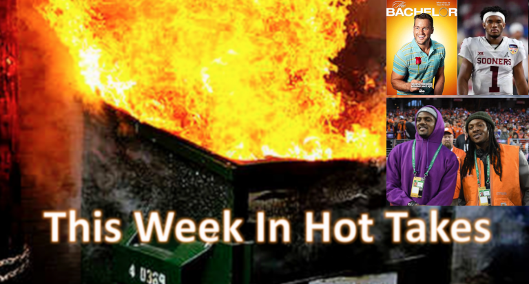 This Week In Hot Takes for Jan 4-10.