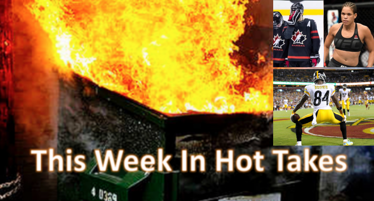 The hottest takes for Dec. 28-Jan. 4 centered on Antonio Brown.