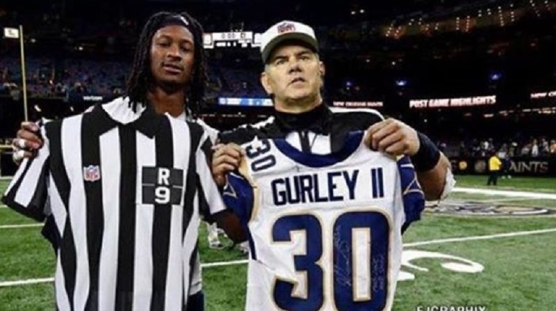 quality design 3e13b 53125 Holy shit, Mike Francesa thought Todd Gurley actually ...