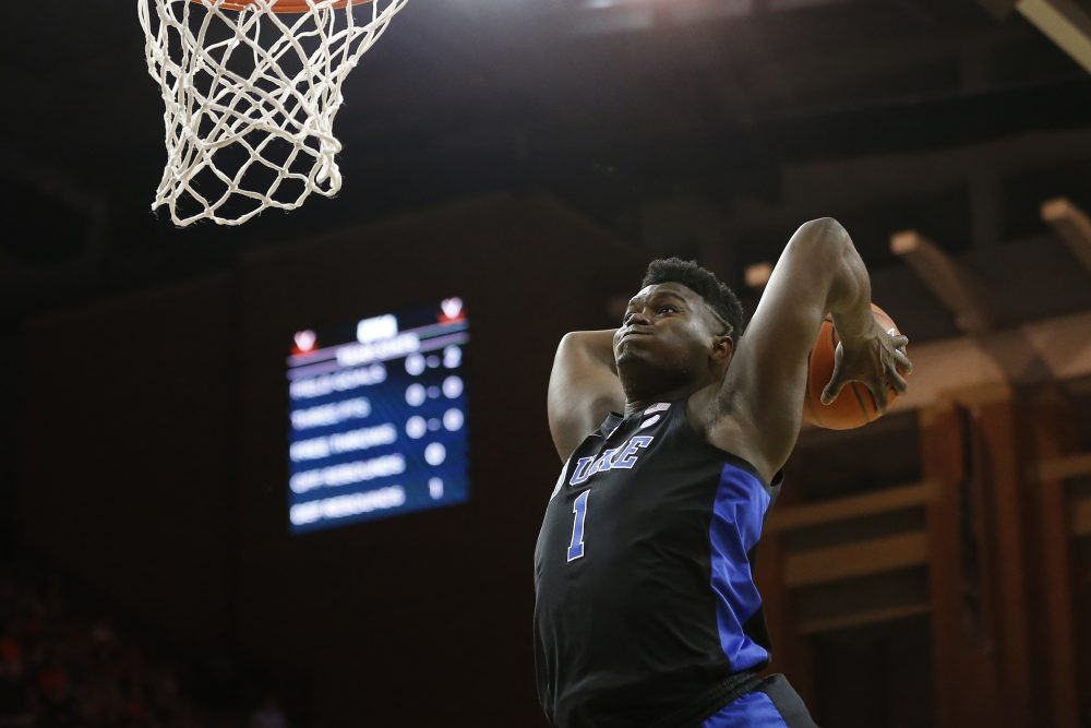 The heavy sports media coverage of Zion Williamson and Duke feels warranted