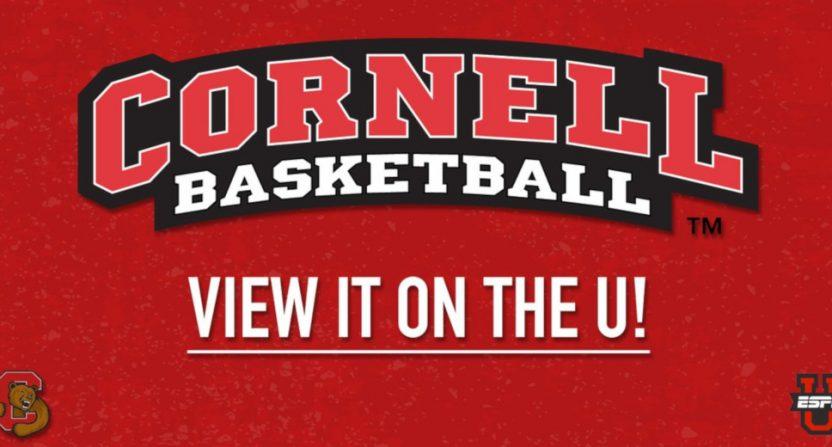 Cornell basketball on ESPNU.