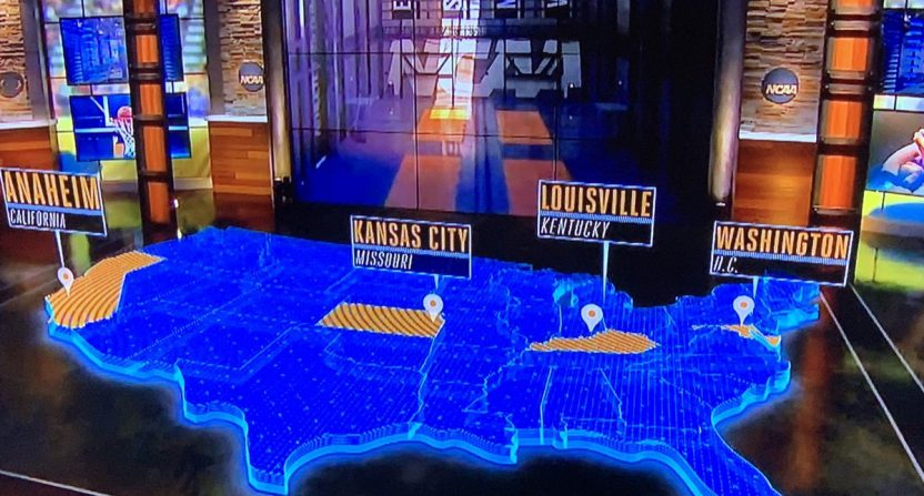CBS fails Geography pop quiz as they attempted to map out regional on