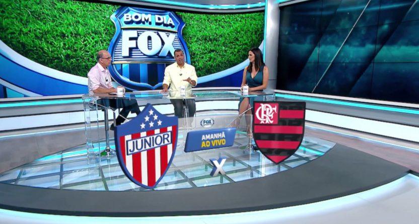 Fox Sports Brazil's Copa Libertadores coverage in 2017.