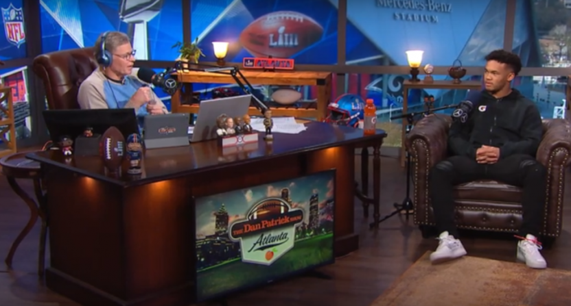 Kyler Murray on The Dan Patrick Show.