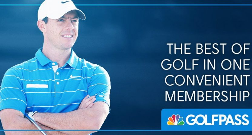 Rory McIlroy teams with NBC Sports for GOLFPASS, a hybrid