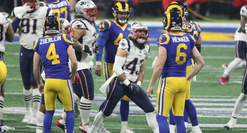 Super Bowl LIII ended poorly for the Rams, and for the ratings.
