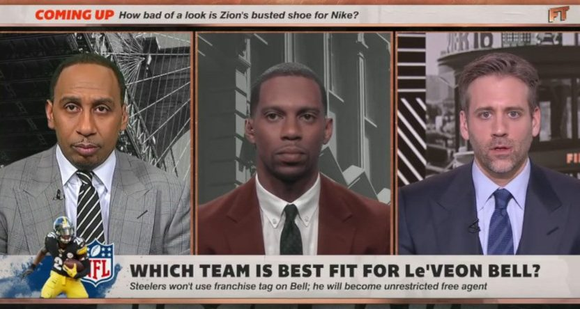 Stephen A. Smith on First Take.