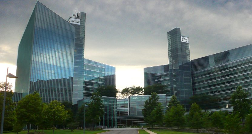 The Gannett/USA Today headquarters in McLean, VA.