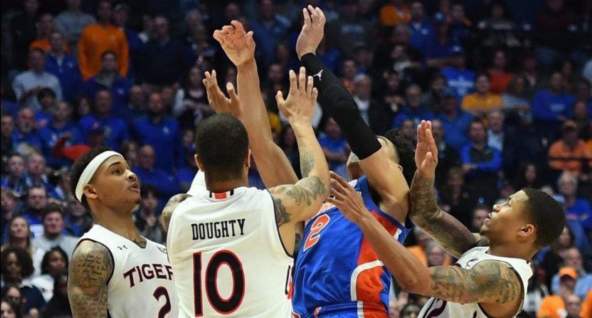 A Brutal Late No Call Helped Auburn Beat Florida And