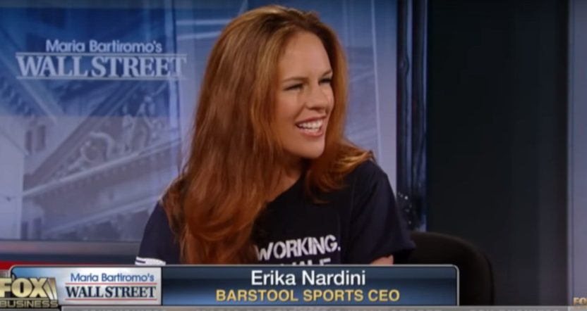 Erika Nardini on Fox Business in July 2018.