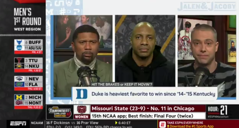 Jalen Rose, Jay Williams and Dave Jacoby were very wrong about when John Wall played at Kentucky.