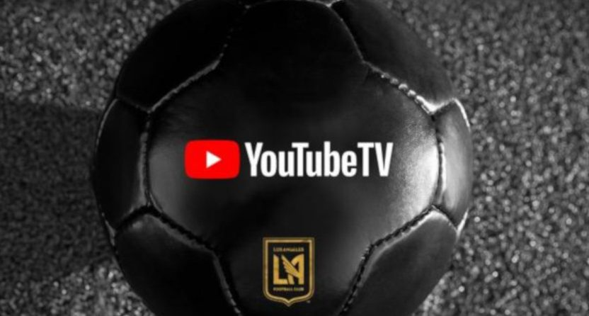 LAFC's YouTube TV deal.