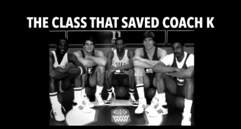 """ACC Network's """"The Class That Saved Coach K."""""""