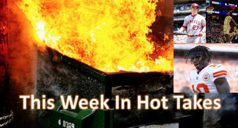 The Tony Rizzo take on Tyreek Hill topped the March 15-21 hot takes.