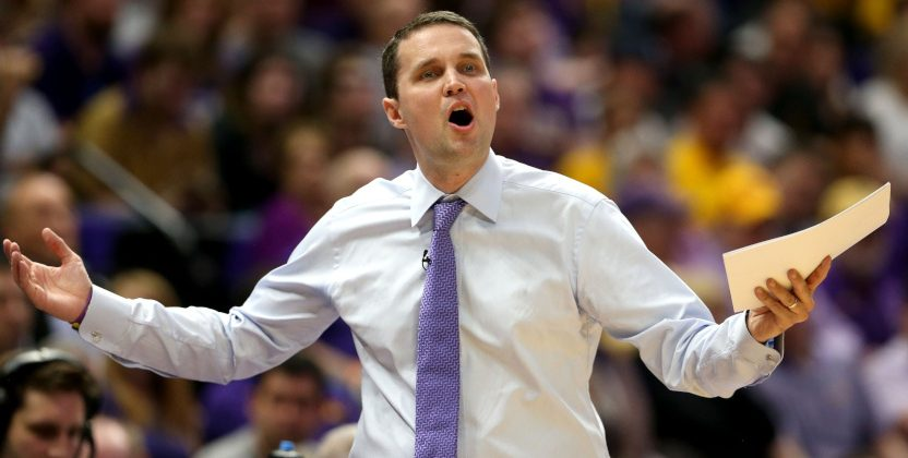 LSU coach Will Wade.