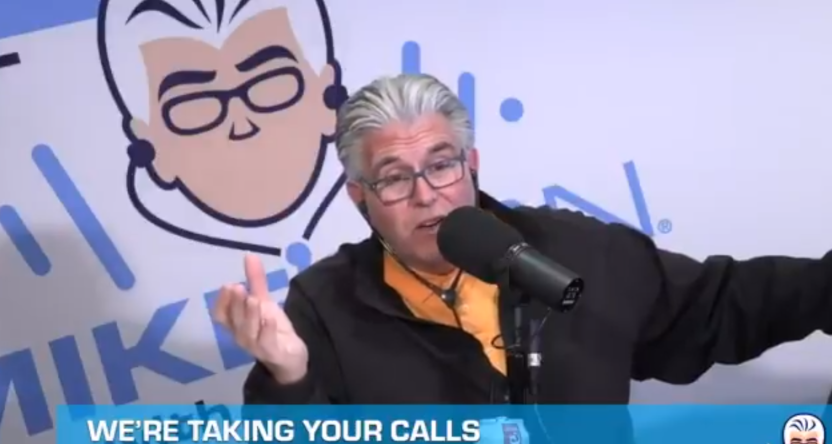 Mike Francesa tried to deny things he said on video.