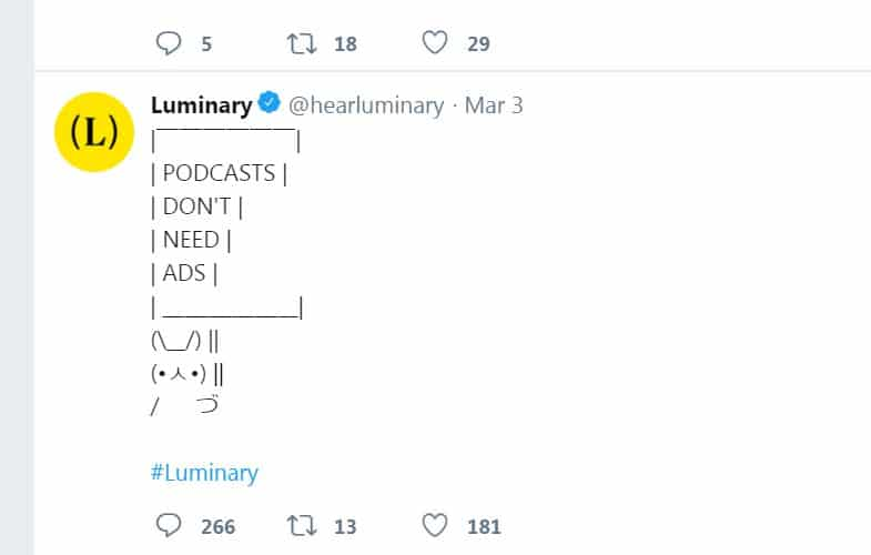Luminary's bid to become 'the Netflix of podcasts' is off to