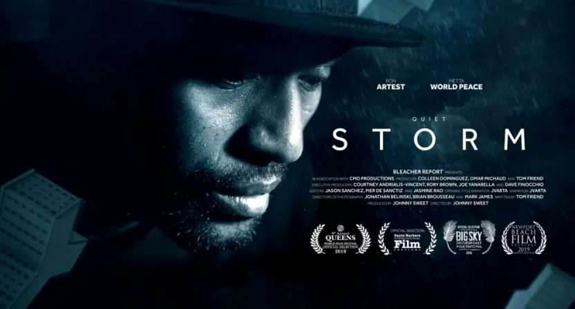 Quiet Storm: The Ron Artest Story.