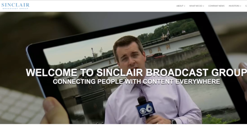Sinclair's website.