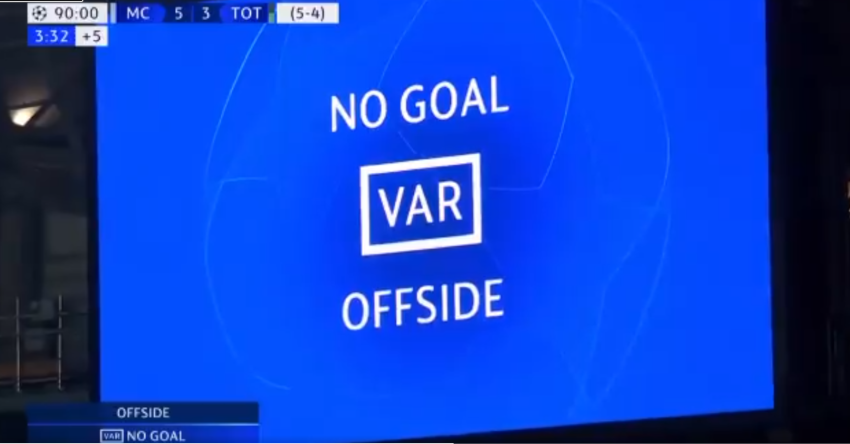 Tottenham advances after 4-3 loss to Man City, with VAR help