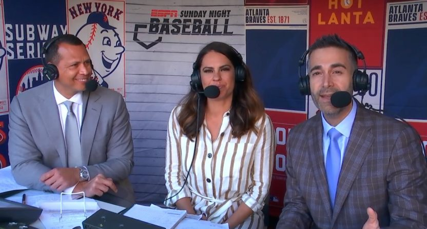 Espn Sunday Night Baseball Schedule 2020 ESPN's Sunday Night Baseball booth is a disaster and cannot last