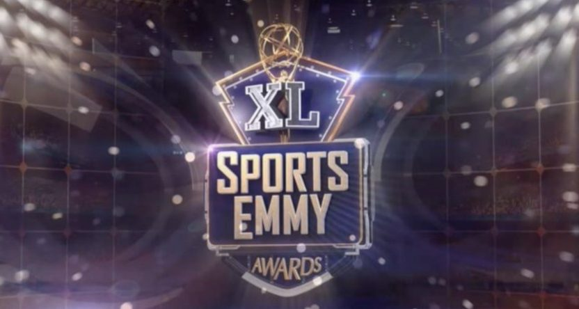 The logo for the 2019 Sports Emmys.