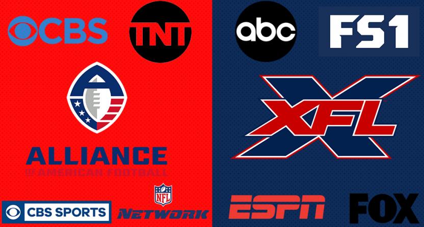 The AAF and XFL TV deals.