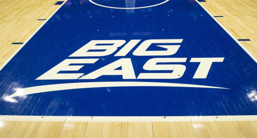 The Big East conference logo.
