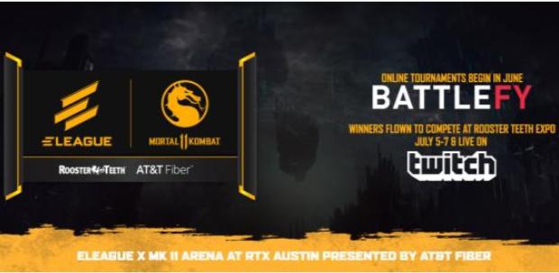 Mortal Kombat will be ELEAGUE's next tournament.