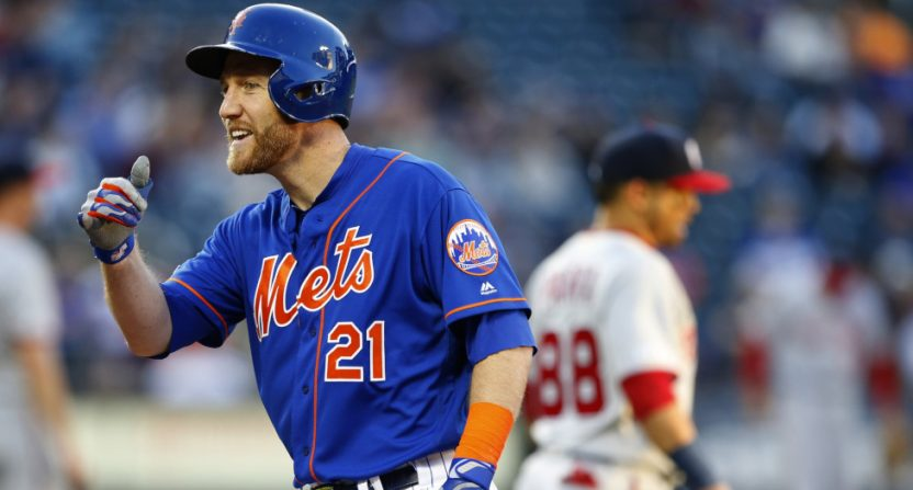 The Mets' Todd Frazier.