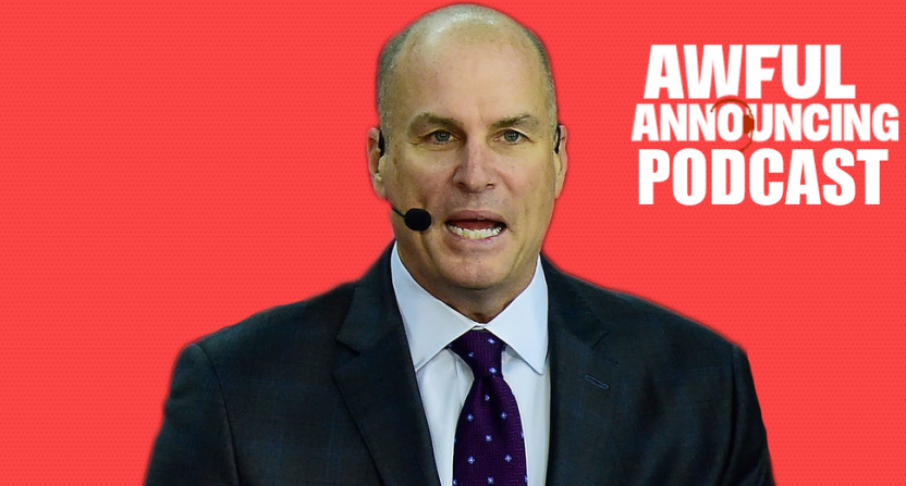 Jay Bilas on the Awful Announcing podcast.