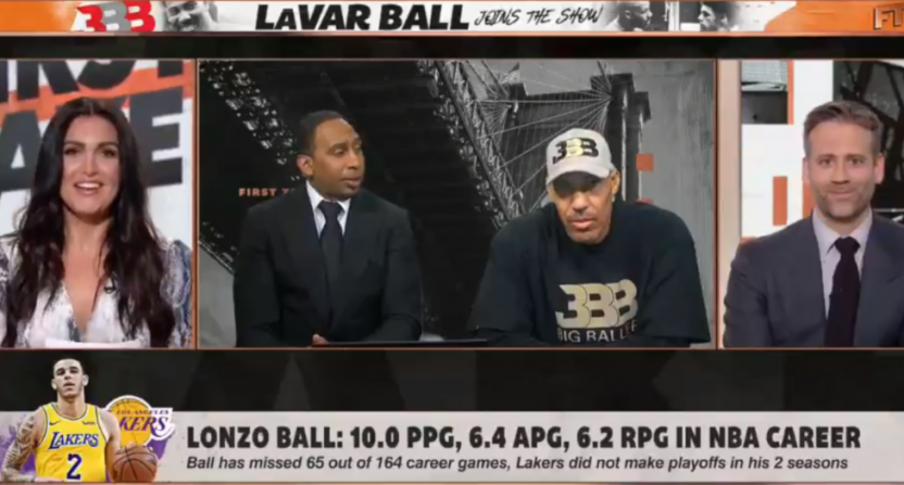 LaVar Ball on First Take on June 17, 2019.