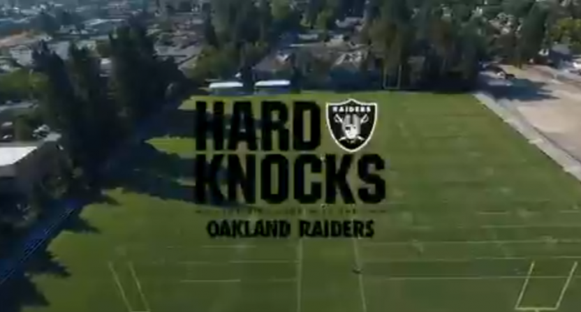 A Hard Knocks Raiders promo.