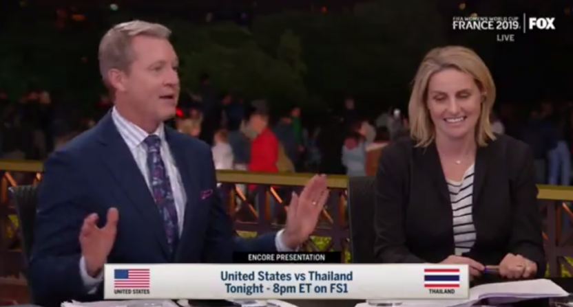 Rob Stone on the U.S. win over Thailand.