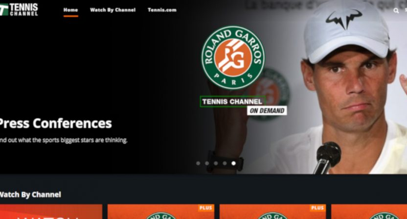 The Tennis Channel has seen a big French Open ratings boost.